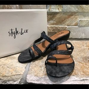 """Brand new with box Style & Co. """"Hartleep"""" sandals"""